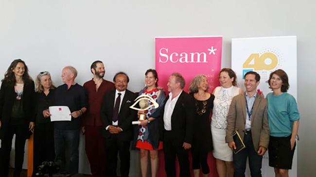 Tambutti Allende recibe el primer premio L'Oeil d'or