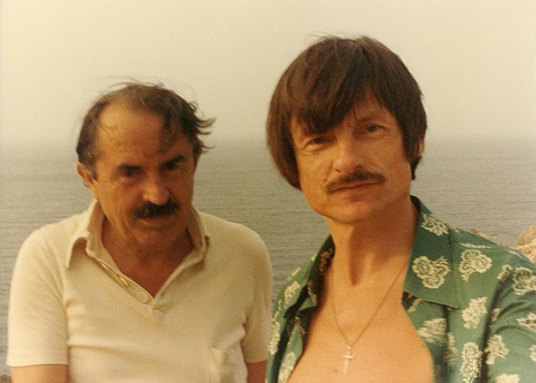 Tarkovski con Tonito Guerra