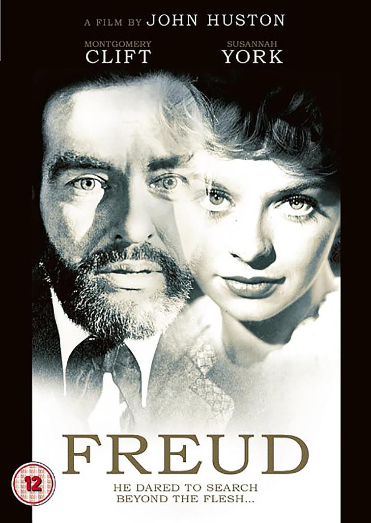 "AFICHE ""FREUD"" UN FILM DE JOHN HUSTON"