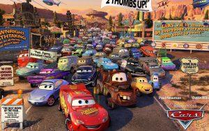 """""""Cars"""" y su secuela generaron miles de millones en merchandising para Disney."""
