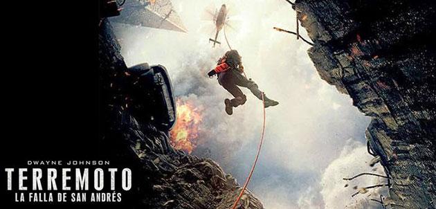"""""""Terremoto"""", el último éxito made in Hollywood del cine catástrofe."""
