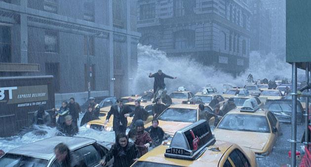 """""""El día después de mañana"""" es el filme catástrofe más exitoso de las últimas décadas."""