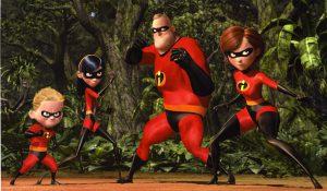 """""""Los Increíbles"""", una familia de superhéroes en la tradición de Johnny Quest."""