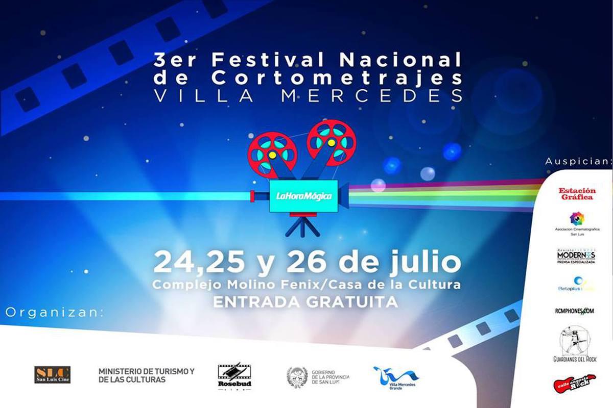 3º Festival de Cortometrajes de Villa Mercedes
