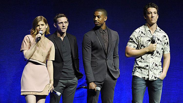 ULTRACINE estuvo en la conferencia de prensa de Los 4 fantásticos