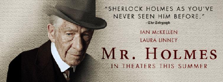 Mr. Holmes ya no vive en el 221B Baker Street