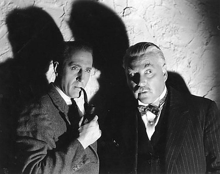 B. Rathbone y N. Bruce