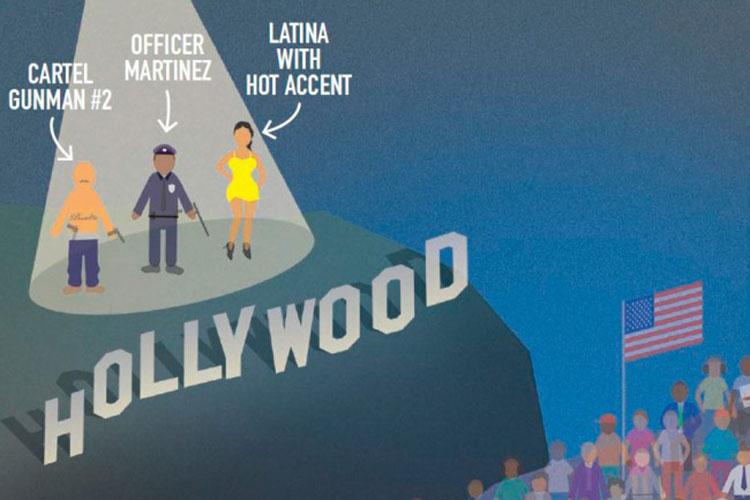 La representación latina en Hollywood disminuyó