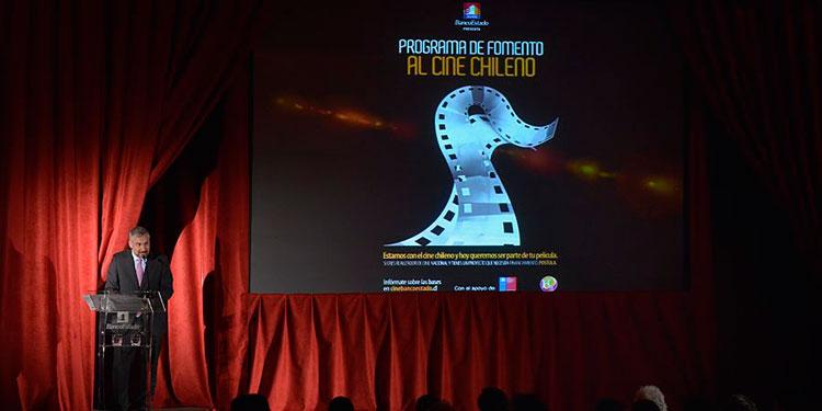 BancoEstado lanzó un programa de fomento al cine chileno