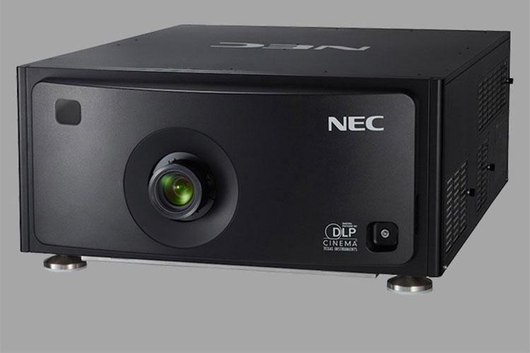 NEC: nuevo proyector láser para cine