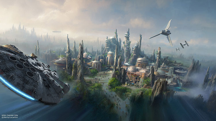 Star Wars y Avatar: nuevos parques temáticos de Disney