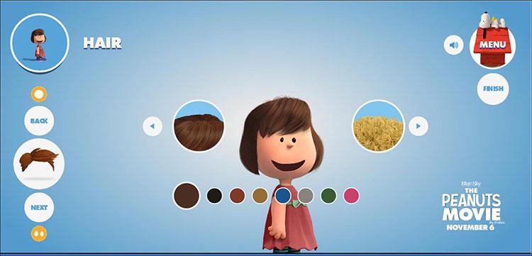 Una aplicación permite dibujarte como un personaje de Snoopy y Charlie Brown