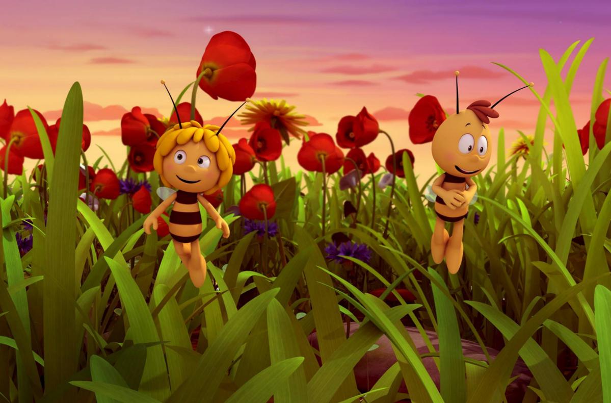 Animación: Debut de La abeja Maya. La película