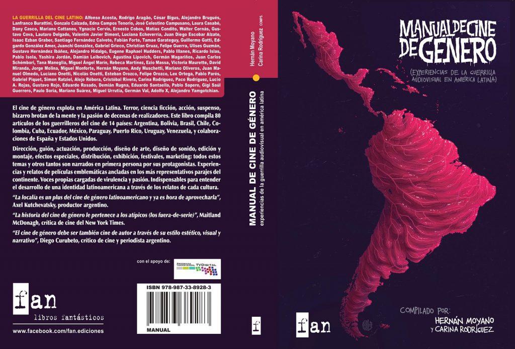 """El """"Manual de cine de género"""" cuenta con la participación de realizadores, técnicos, festivales, distribuidoras y plataformas de crwdfunding."""