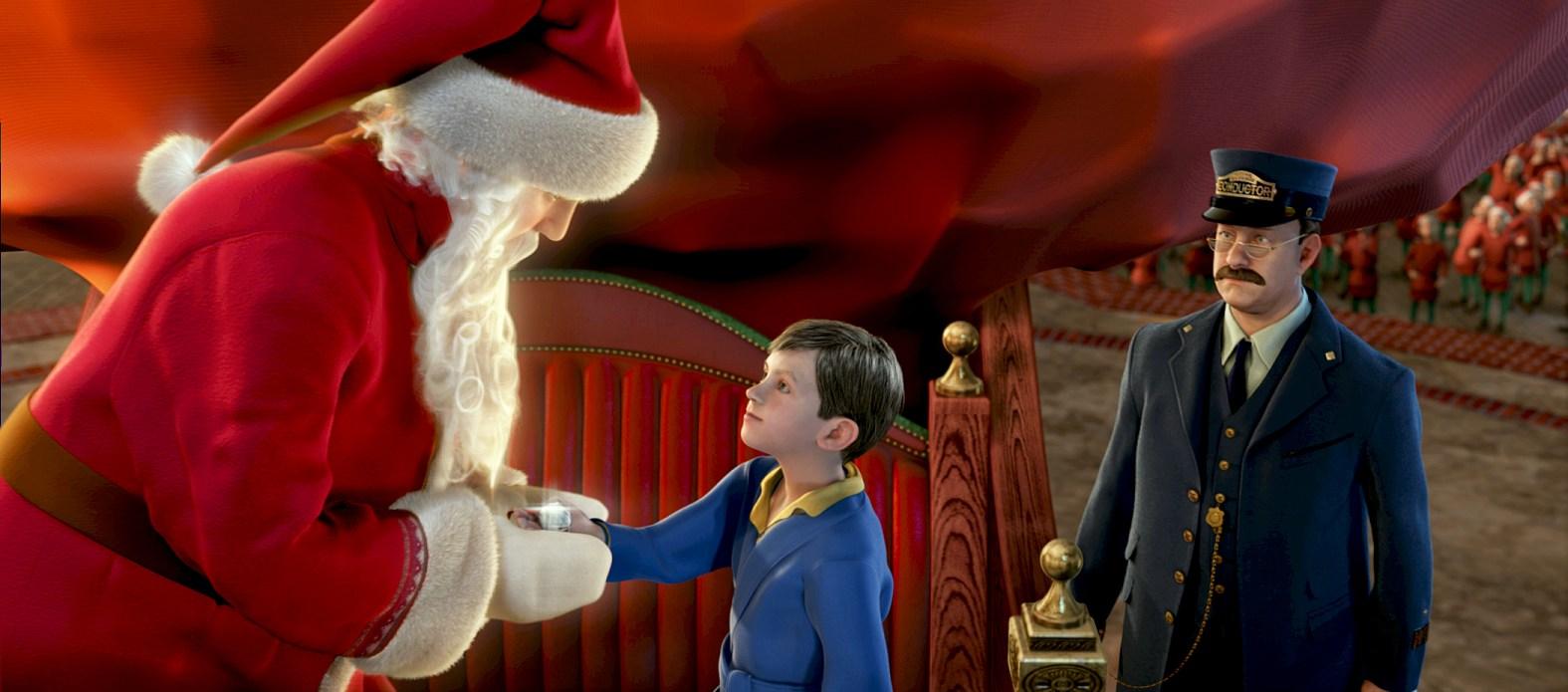 """""""El expreso Polar"""" de Robert Zemeckis fue la película navideña más convocante en Argentina."""