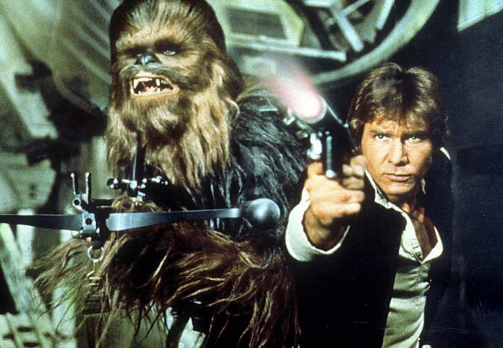 """Star Wars"" lanzó la carrera a la fama de Harrison Ford."