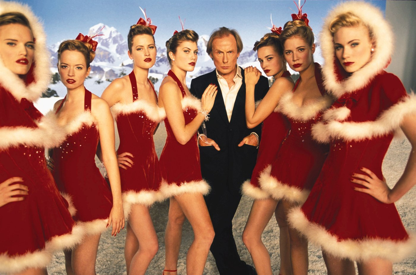 """El amor florece en una Navidad londinense en """"Realmente amor""""."""