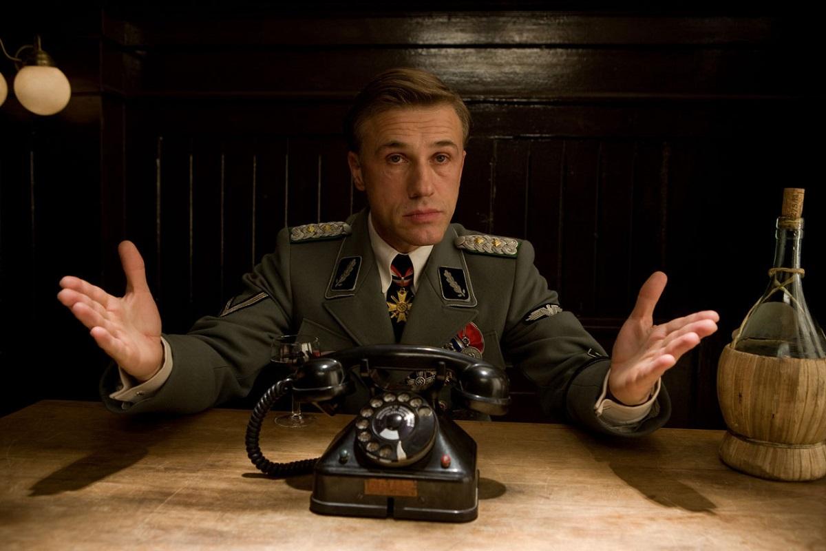 """Christoph Waltz ganó un Oscar por su rol de coronel nazi en """"Bastardos sin gloria""""."""