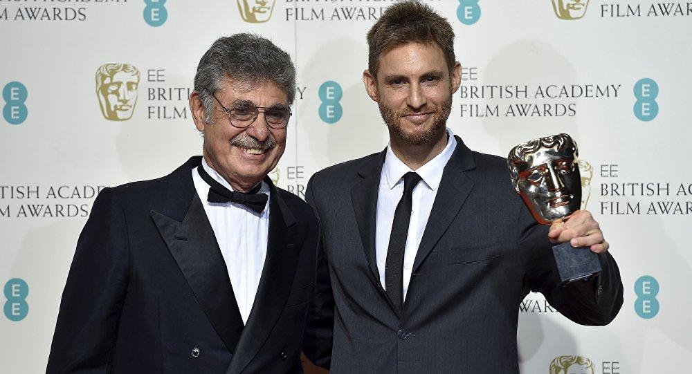 Damián Szifrón y Hugo Sigman asistieron a la ceremonia de los BAFTA.