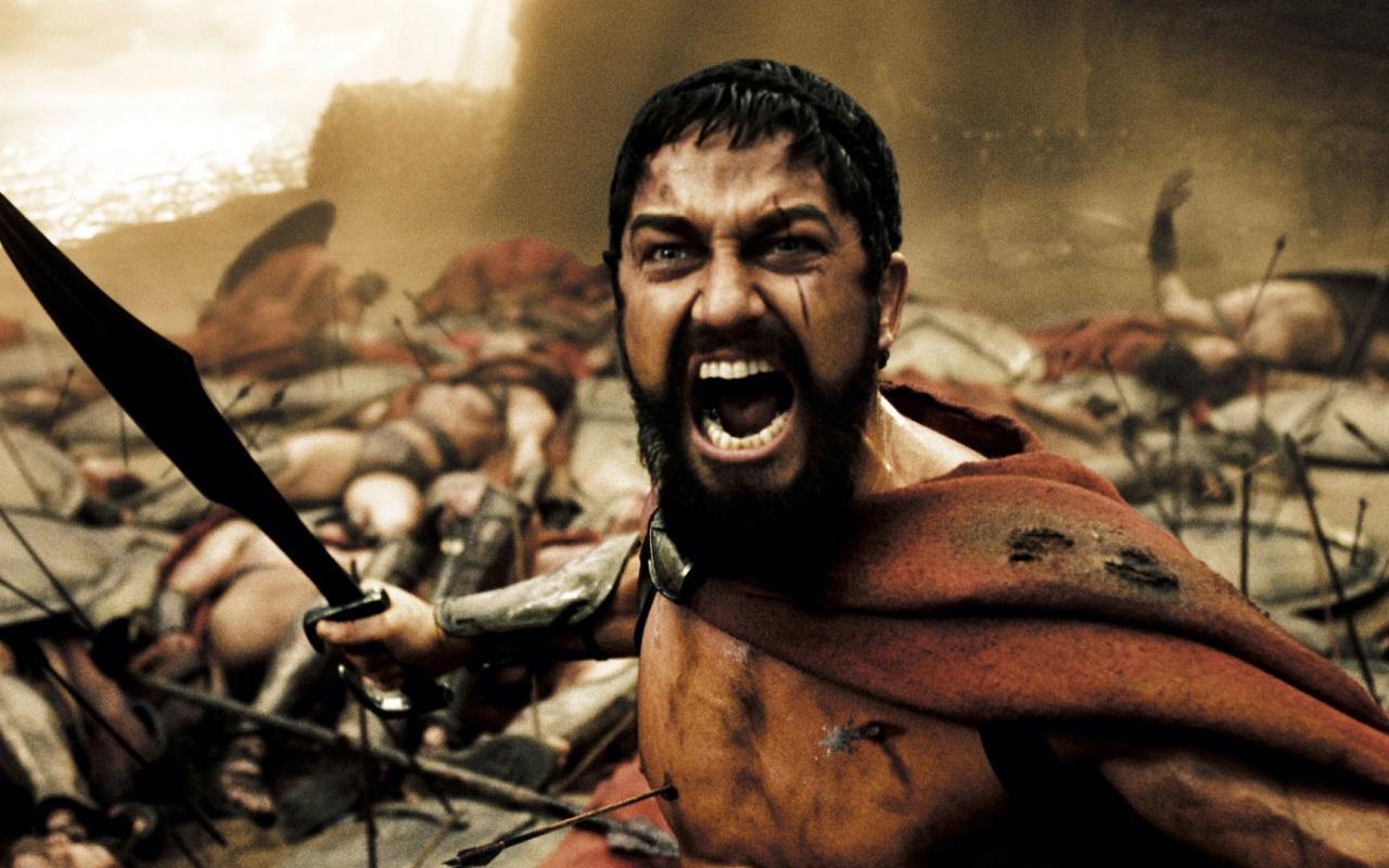 """Gerard Butler, protagonista de """"Dioses de Egipto"""", fue también el Rey Leónidas en """"300""""."""