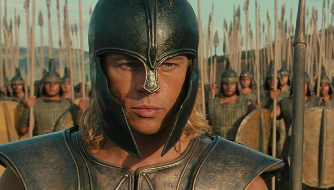 """""""Troya"""" fue la película peplum más exitosa de las últimas décadas en Argentina."""