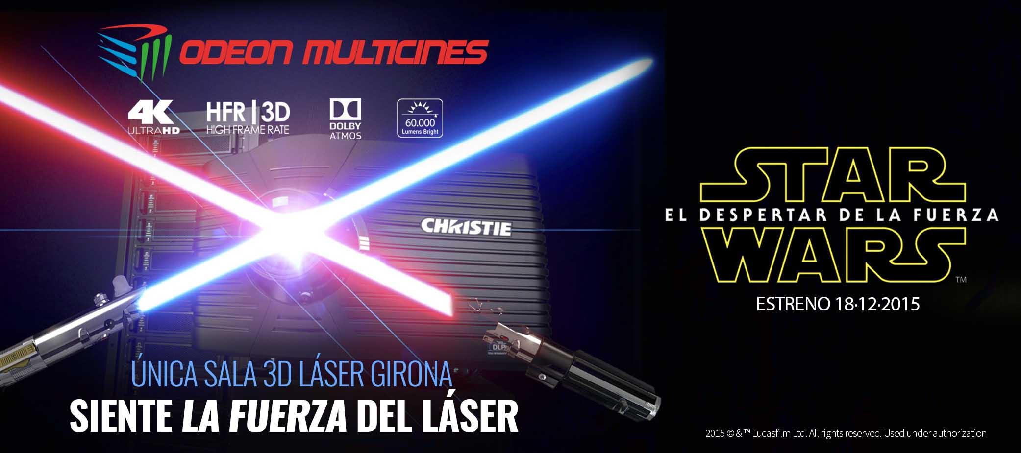 Christie: El cine Odeon Girona proyecta