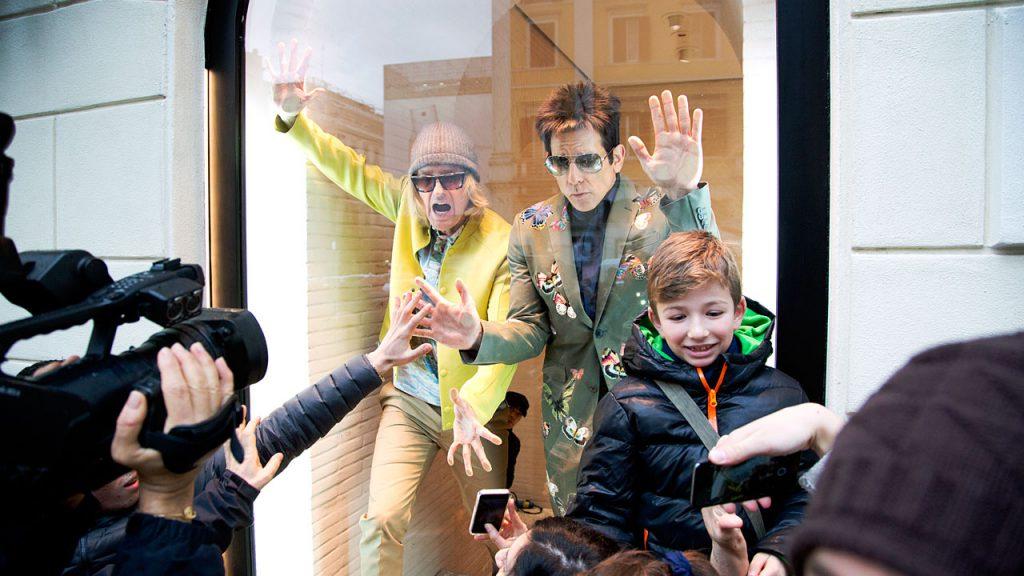 Ben Stiller y Owen Wilson modelan en Valentino para Zoolander 2