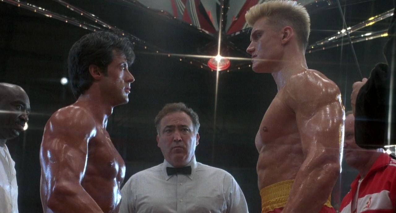 """Los golpes que el actor Dolph Lundgren le propinaba a Stallone en """"Rocky IV"""" eran reales"""