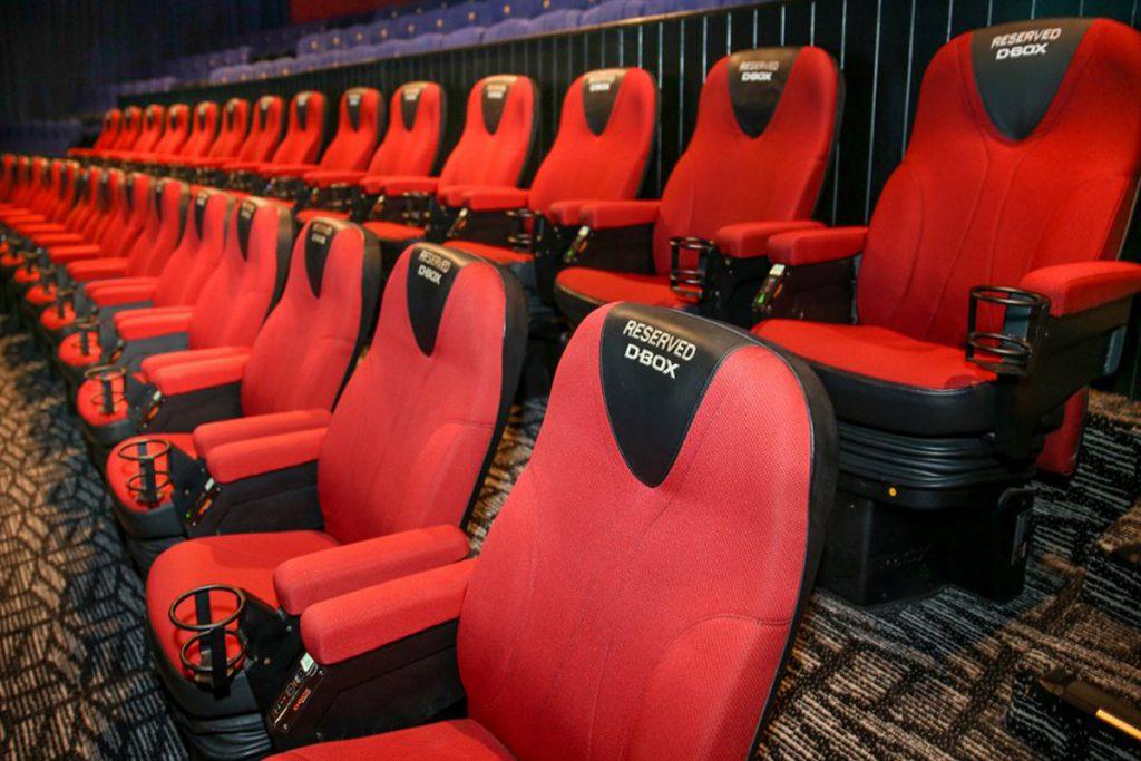 D-Box: cine con movimiento en Hoyts y Cinemark Argentina