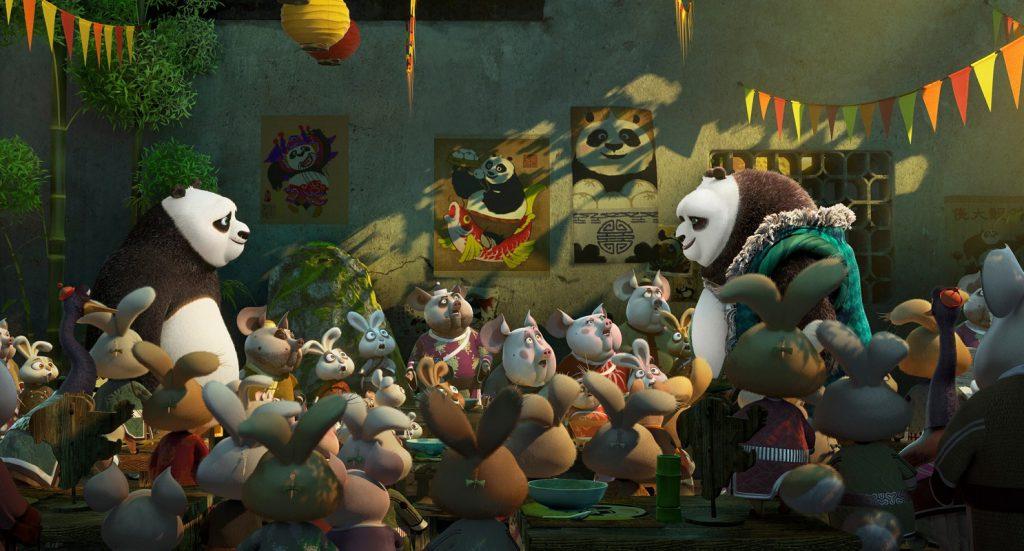 """Po encuentra a su padre en """"Kung Fu Panda 3""""."""