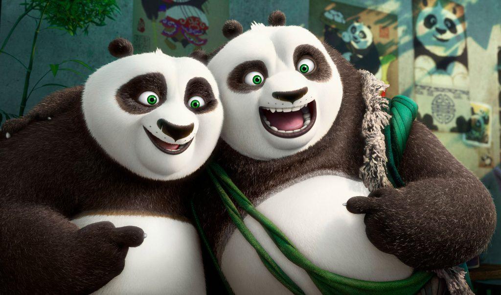 """Animación: """"Kung Fu Panda 3"""" fue el primer estreno 4D en Argentina"""