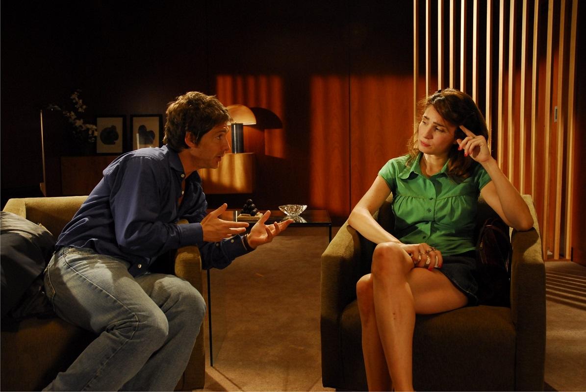 """Suar y Bertucelli en """"Un novio para mi mujer"""", el filme más taquillero en las carreras de ambos actores."""