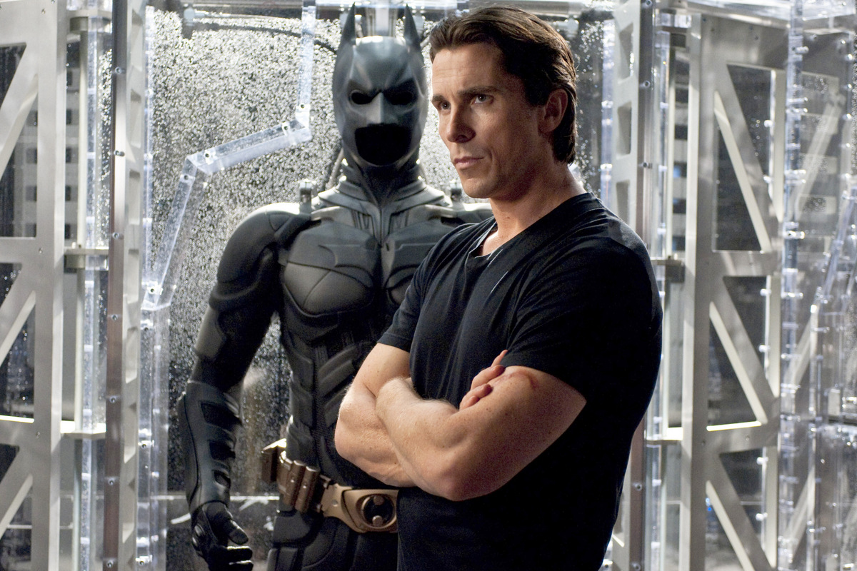 Christian Bale interpretó a Batman en tres oportunidades.