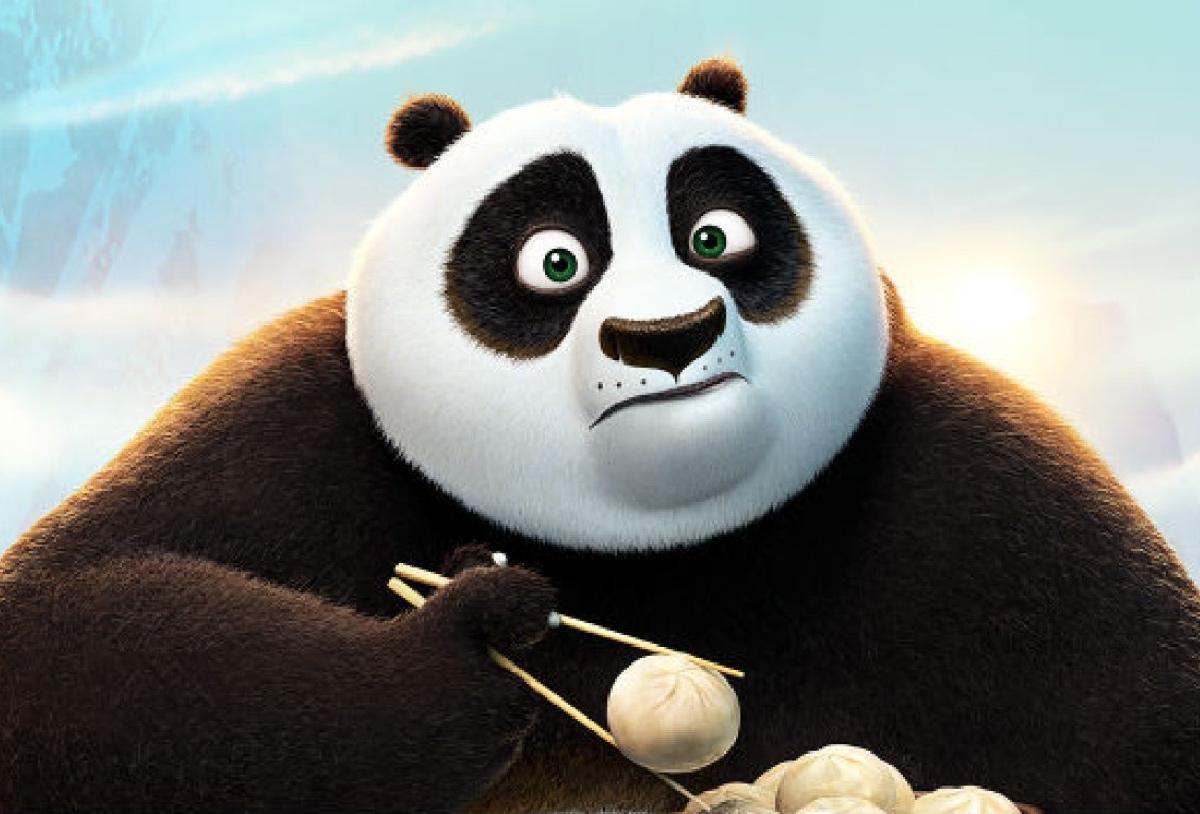 """""""Kung Fu Panda 3"""" fue el estreno más convocante en su primer día de exhibición."""