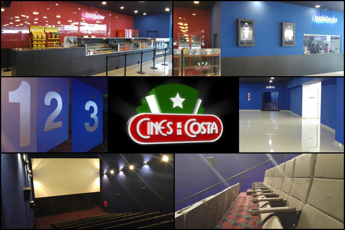 Nuevas salas: Cines de la Costa en Resistencia, Chaco