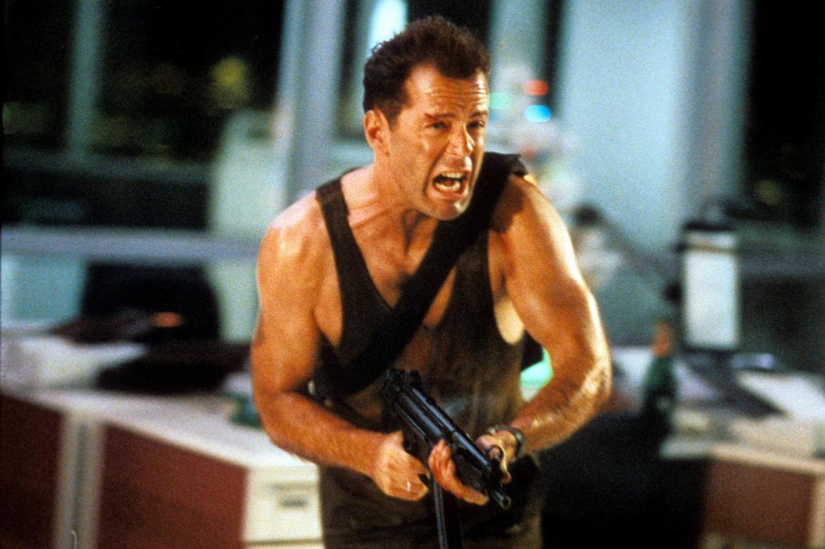 """""""Duro de matar"""", una de las películas emblemáticas del cine de acción."""
