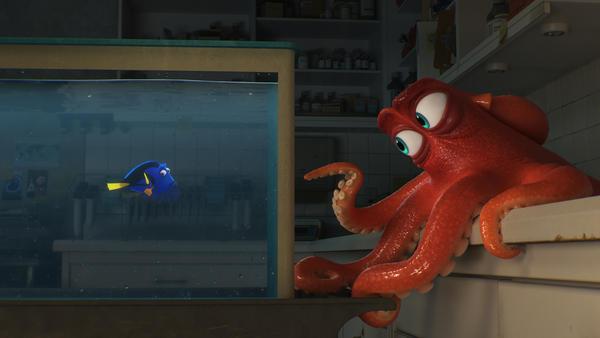 """Disney mostró en exclusiva los primeros 27 minutos de """"Buscando a Dory""""."""