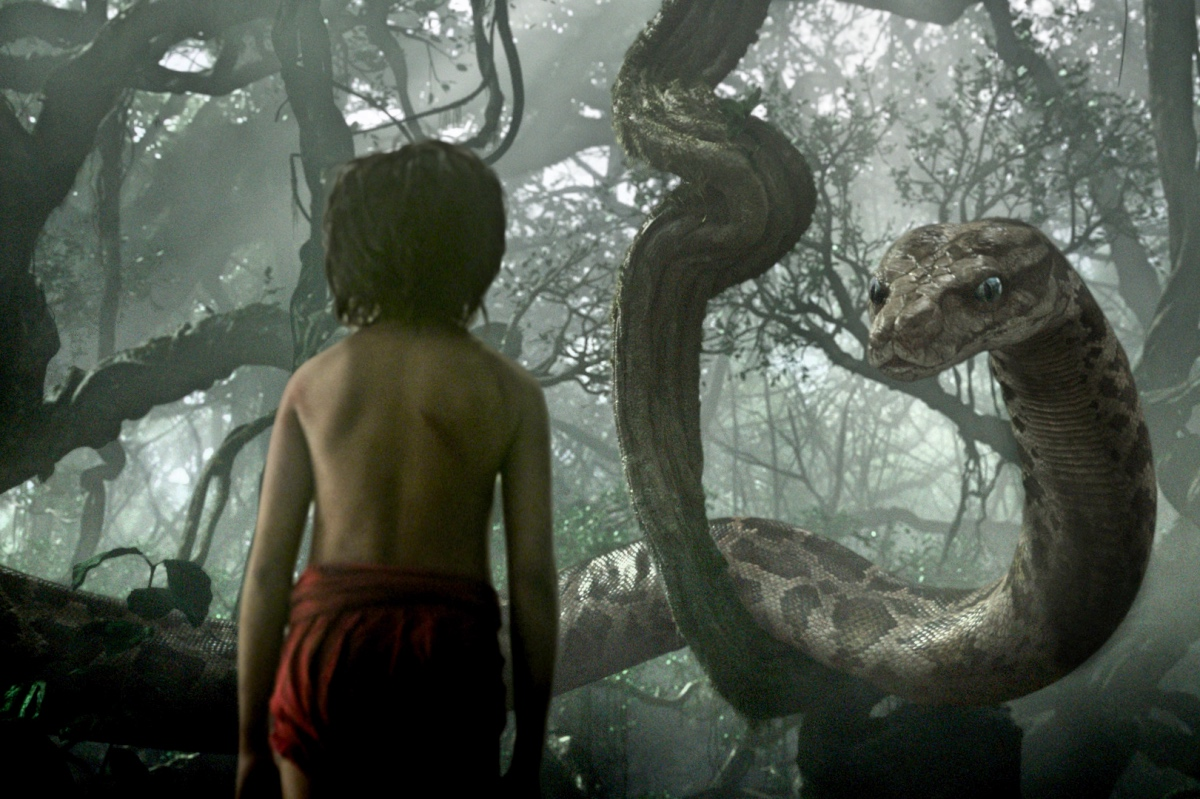 """""""El Libro De La Selva """" fue la película más vista del fin de semana."""
