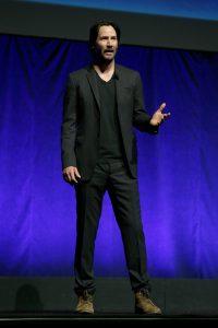 """Keanu Reeves mostró un avance de """"John Wick 2""""."""