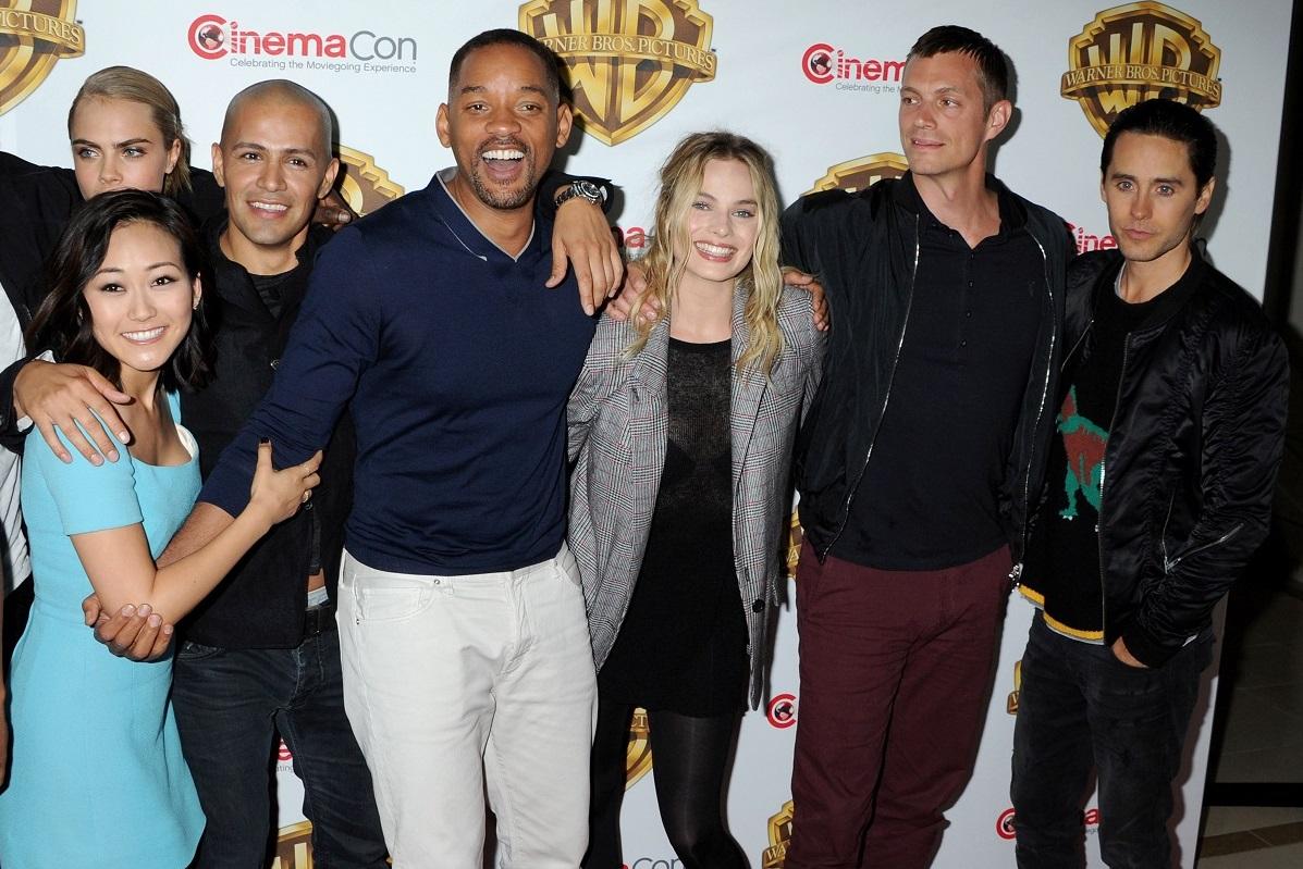 """Presentación de """"Suicide Squad"""" en CinemaCon."""