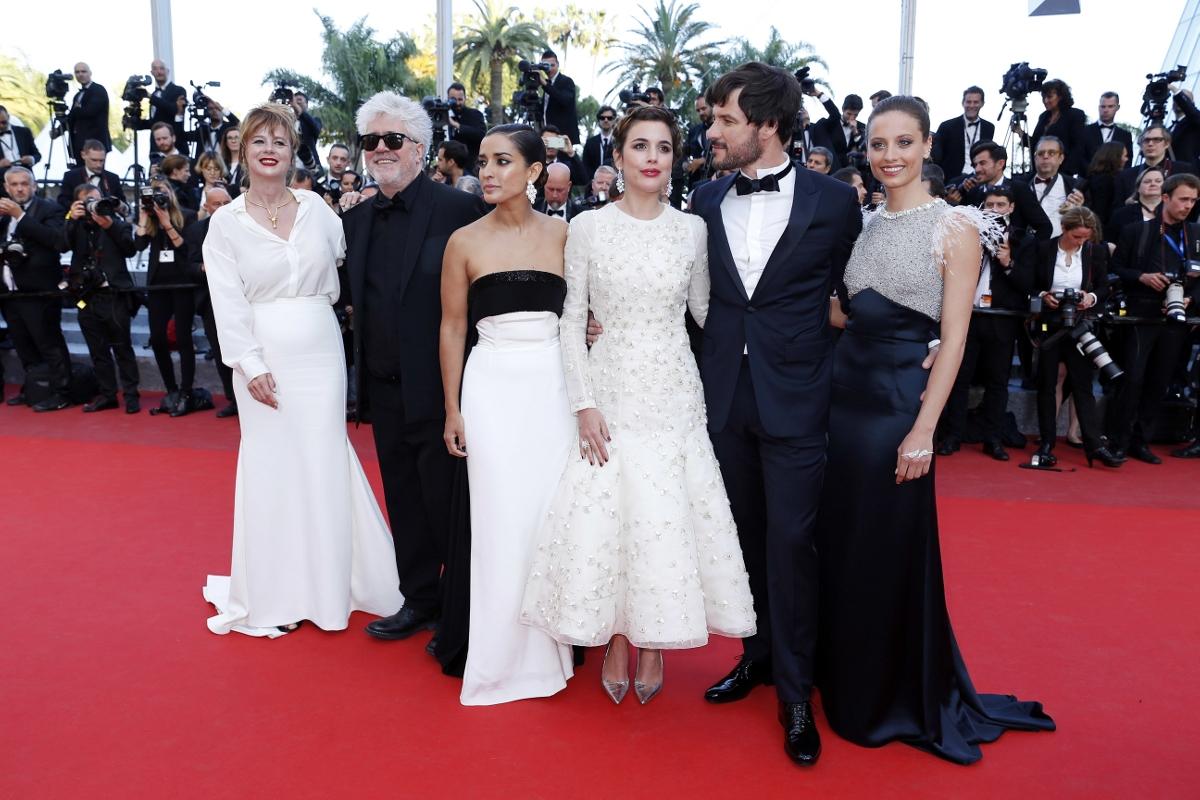 """La première de """"Julieta"""" de Pedro Almodóvar."""