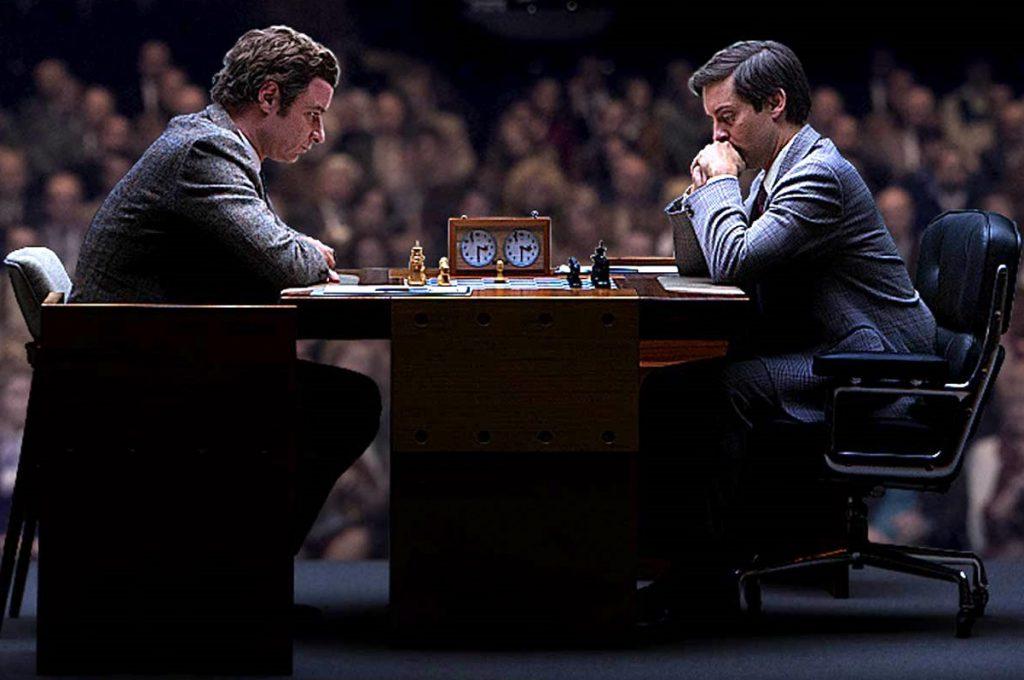Fischer y Spassky se retan el Campeonato Mundial de Ajedrez en 1972.
