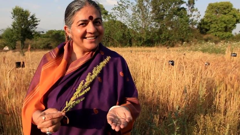 Vandana Shiva es una de las invitadas confirmadas.