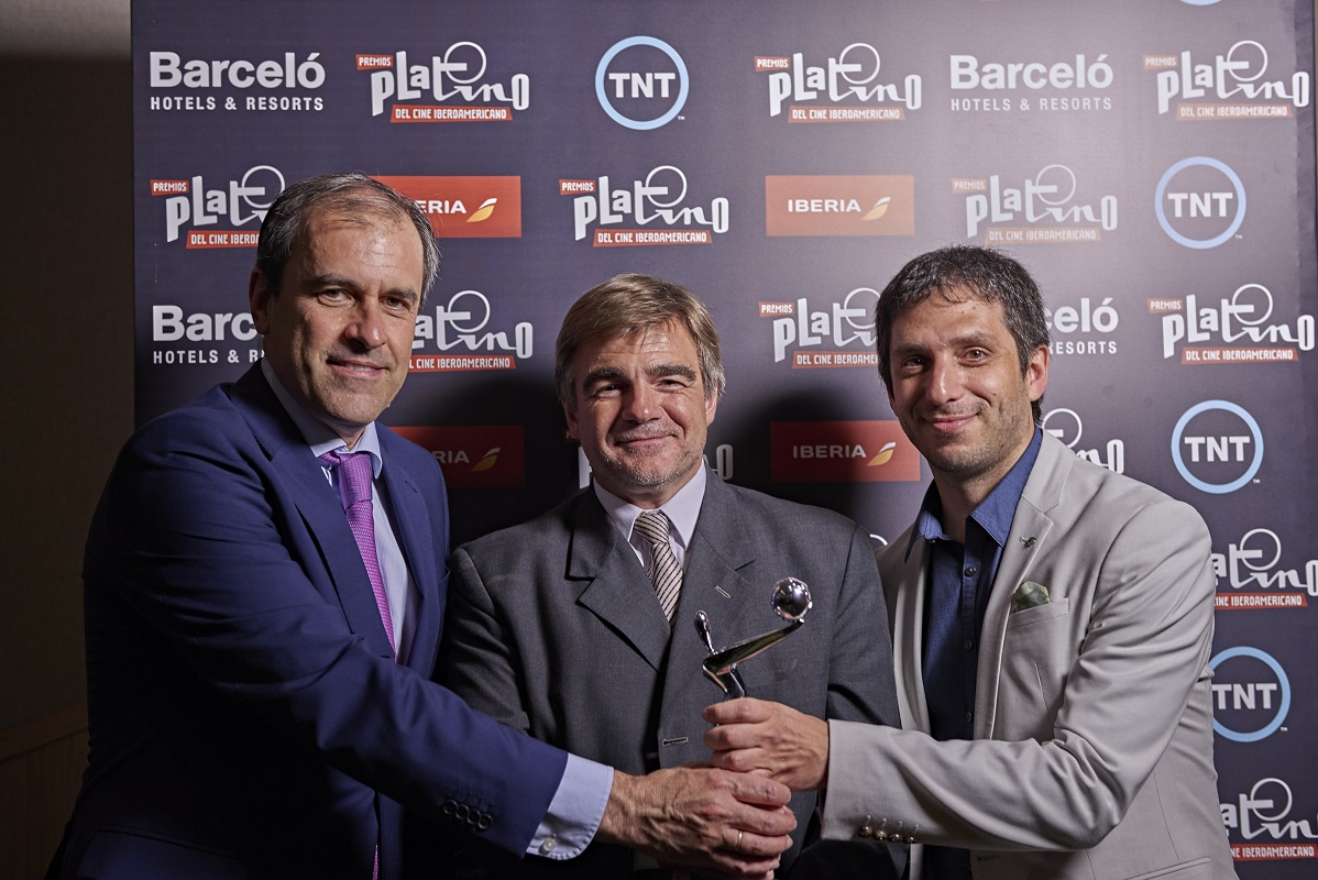 El INCAA recibió un galardón por ser el mayor coproductor de Iberoamérica.