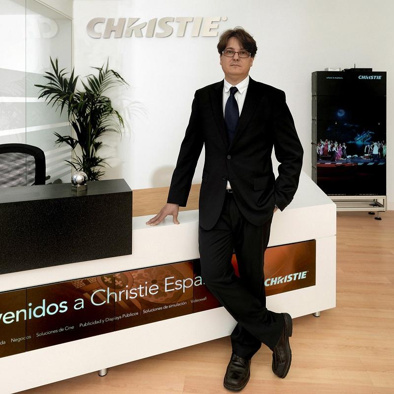 Marcos Fernandez, director de Christie para España y Portugal