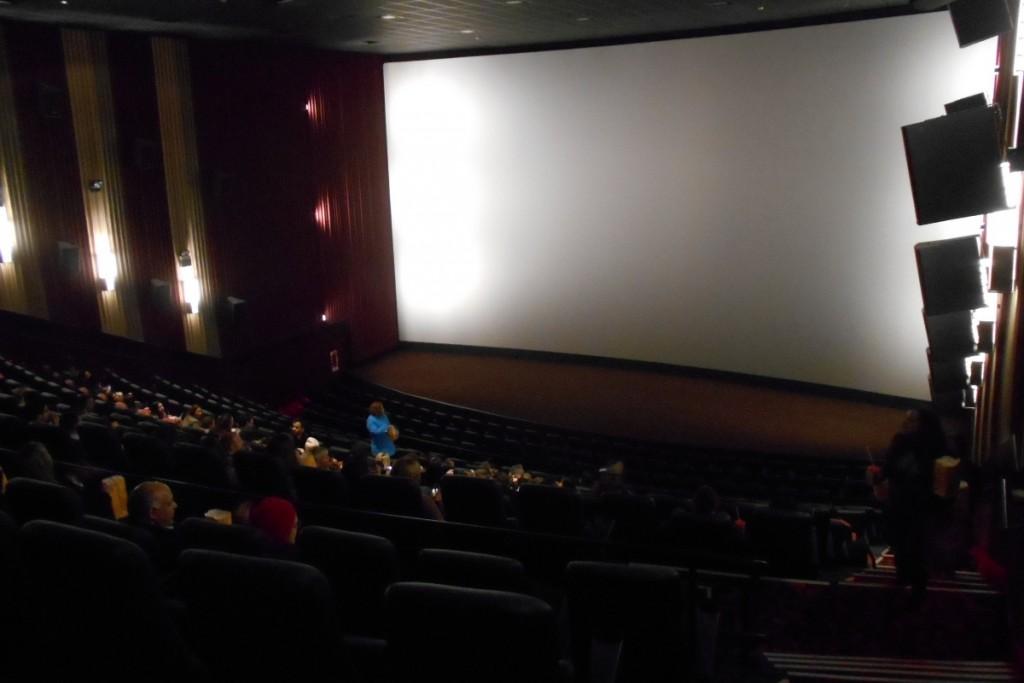Pantalla del Cinemark XD de Paraguay.