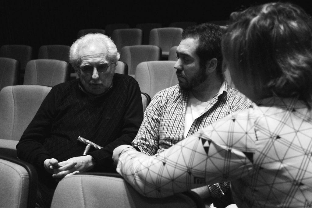Pacho O'Donnell (autor) Nicolás Capelli (dir.) en entrevista con Ultracine.