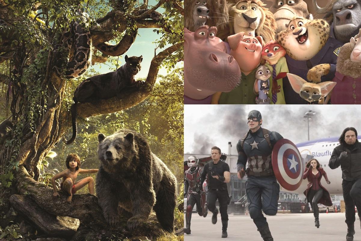 Especial Primer semestre 2016: Las películas más taquilleras