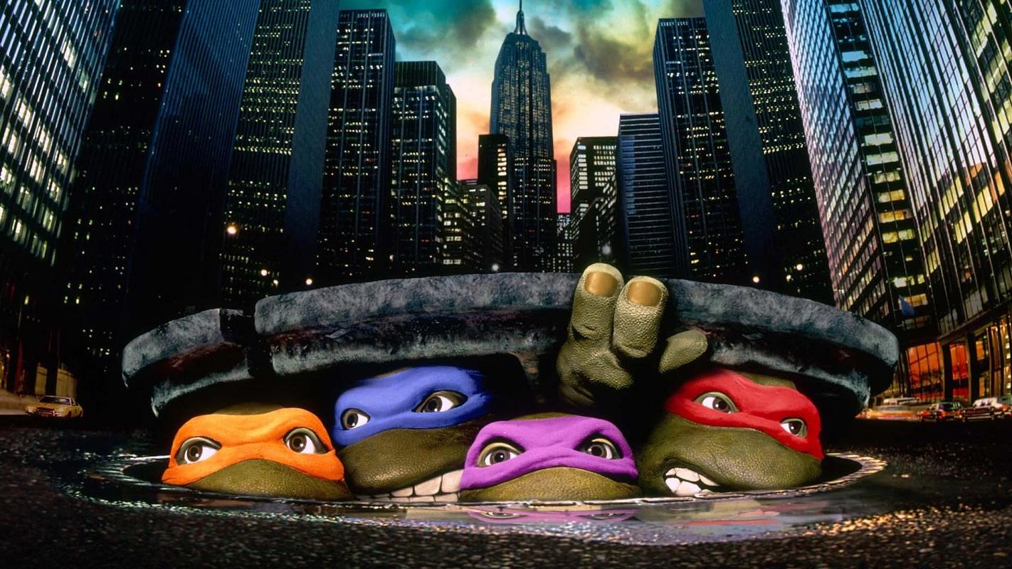 En 1990, la primera película de las tortugas es un hit mundial