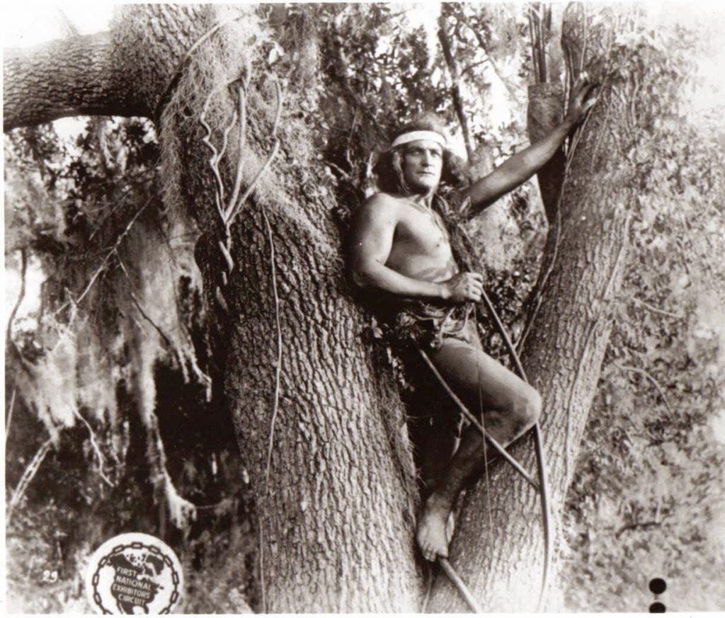 Elmo Lincoln, el primer Tarzán.